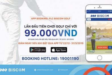 FLC Biscom Golf: Ứng dụng chơi golf không thể thiếu của các golfer