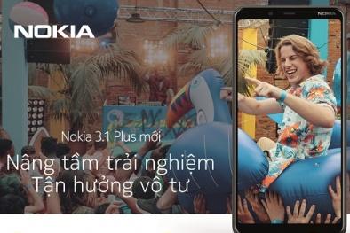 Nokia 3.1 Plus được bán tại các đại lý với giá 3,89 triệu đồng