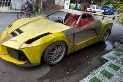 Malaysia: 'Hô biến' đống sắt vụn thành siêu xe Ferrari LaFerrari