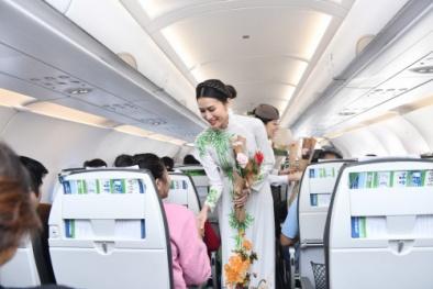 Những món quà bất ngờ trên chuyến bay đầu năm của Bamboo Airways
