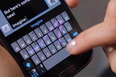 Smartphone nhận diện người dùng thông qua cách gõ bàn phím?