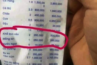 Xử phạt hành chính nhà hàng bị tố 'chặt chém' ở Nha Trang