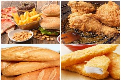 Tăng nguy cơ tử vong sớm nếu ăn bánh mì, gà rán hàng ngày