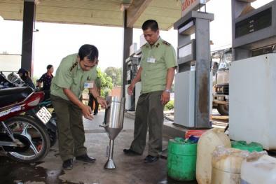 Gian lận chất lượng xăng, doanh nghiệp ở Đắk Lắk bị đình chỉ kinh doanh