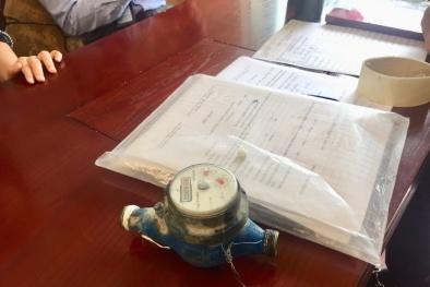 Bất ngờ kết quả kiểm định đồng hồ nước của gia đình phải thanh toán gần 24 triệu tiền nước