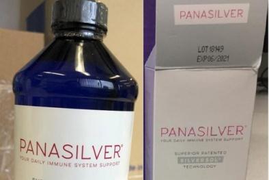 Tránh dùng bạc keo Panasilver tăng cường miễn dịch vì có thể nhiễm độc nặng