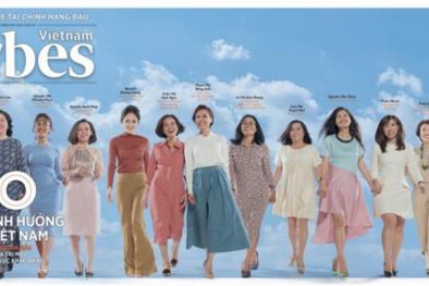 50 'bông hồng' ảnh hưởng nhất Việt Nam do Forbes bình chọn