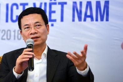 Bộ trưởng Nguyễn Mạnh Hùng chỉ đạo 'chốt' thời hạn xử lý vấn nạn sim rác