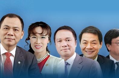 Giới siêu giàu Việt Nam, top 10 người giàu nhất, họ là những ai?