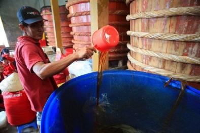 Tạm dừng công bố tiêu chuẩn quốc gia về quy phạm thực hành sản xuất nước mắm