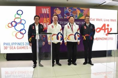 Tập đoàn Ajinomoto tiếp tục đồng hành cùng SEA Games 30