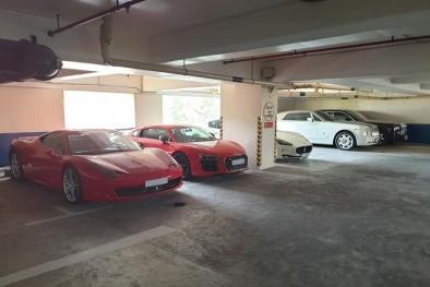 Xôn xao căn hầm chứa đầy siêu xe đắt tiền được cho là của 'đại gia nước mắm' Nguyễn Đăng Quang