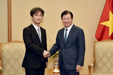 Khuyến khích doanh nghiệp Nhật Bản đầu tư hạ tầng, năng lượng sạch