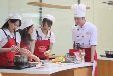 Làm món Nhật cùng đại sứ thiện chí Hoa Anh Đào tại Ajinomoto Cooking Studio