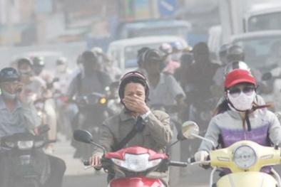 Không khí ô nhiễm bao phủ Hà Nội