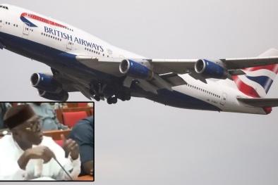 Giới siêu giàu Nigeria đặt hàng pizza từ London, được giao bởi máy bay của hãng British
