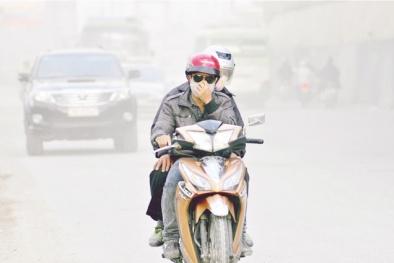 Bụi mịn PM2.5 'phong tỏa' Hà Nội: Nhiều tuyến đường ô nhiễm vượt chuẩn