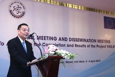 EU hỗ trợ Việt Nam nâng cao năng lực quản lý an toàn hạt nhân