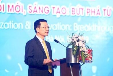 Bộ trưởng Nguyễn Mạnh Hùng: Ở đâu có vấn đề ở đó có công nghệ, giải pháp
