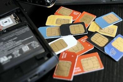 Để tình trạng mua bán SIM rác tràn lan 'sếp' nhà mạng sẽ bị xử lý