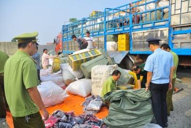Chặn 'dòng chảy' hàng hóa vận chuyển trái phép qua biên giới