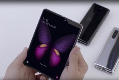 Trải nghiệm chiếc điện thoại 48 triệu có thể gập lại sắp ra mắt của Samsung