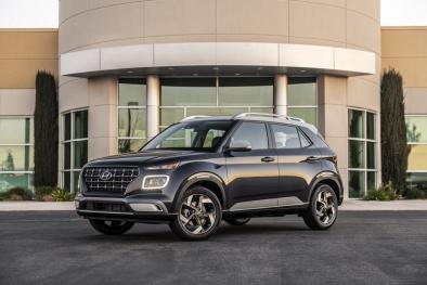 Đàn em Hyundai Kona ra mắt mang dáng dấp của Audi