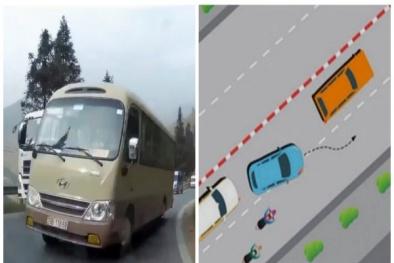 Sai lầm 'chết người' khi vượt xe ô tô nhiều tài xế mắc phải