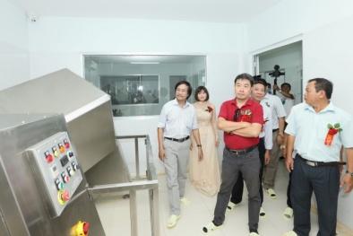 Bình Thuận: Chính thức đưa vào hoạt động nhà máy dược liệu theo chuẩn GMP