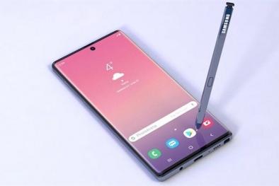 Samsung Galaxy Note 10 sẽ ra mắt với màn hình 'siêu cong'?