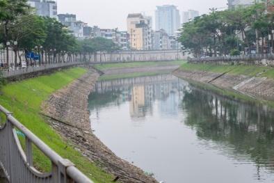 Giải pháp xử lý ô nhiễm sông Tô Lịch bằng công nghệ mới của Nhật Bản chỉ là tạm thời