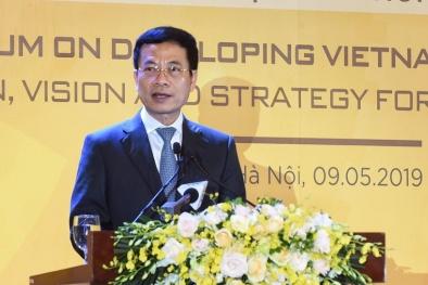 Bộ trưởng Nguyễn Mạnh Hùng: 'Việt Nam là cái nôi để doanh nghiệp công nghệ đi ra toàn cầu'
