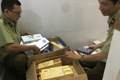 Phát hiện đối tượng vận chuyển hơn 900 bao thuốc lá điếu nhập lậu