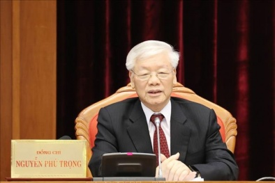 Phát biểu của Tổng Bí thư, Chủ tịch nước Nguyễn Phú Trọng bế mạc Hội nghị Trung ương 10