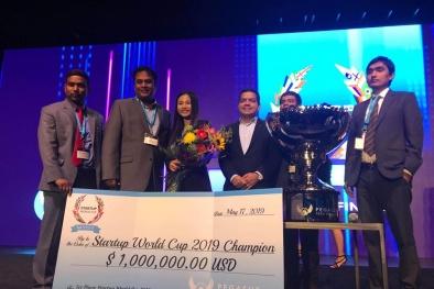 Startup 'thuần Việt' Abivin trở thành quán quân Startup World Cup 2019