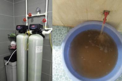 Nước sinh hoạt CT12 Văn Phú đục như nước cống: Đơn vị cung ứng khẳng định vẫn 'sạch'