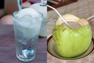 Nước dừa tốt nhưng 3 người này không nên uống kẻo 'rước họa vào thân'