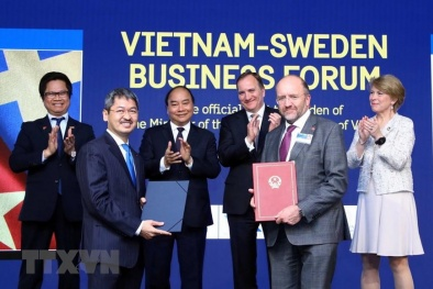 Việt Nam-Thụy Điển: Dấu mốc mới trong hợp tác khoa học công nghệ và đổi mới sáng tạo