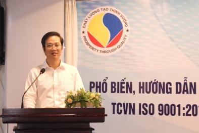 Phổ biến mô hình khung theo tiêu chuẩn quốc gia ISO 9001: 2015