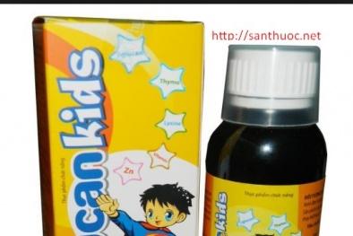 Cẩn trọng thông tin quảng cáo Thực phẩm bảo vệ sức khỏe siro Halucan Kids