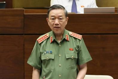 Bộ trưởng Tô Lâm: Duy trì khí thế tấn công, trấn áp mạnh mẽ tội phạm tín dụng đen