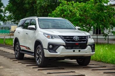 Chiếc xe thứ 500.000 do Toyota Việt Nam sản xuất chính thức xuất xưởng
