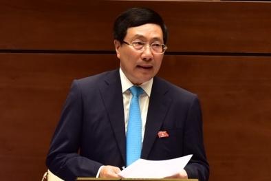 Phó Thủ tướng Phạm Bình Minh: Hàng hóa Việt Nam ngày càng nâng cao chất lượng