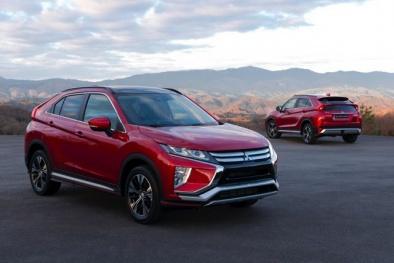 Mitsubishi Eclipse Cross giá từ 658 triệu đồng được trang bị những gì?