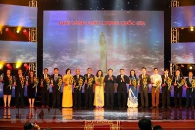Vinh danh 5 doanh nghiệp tỉnh Đồng Nai tại Lễ trao Giải thưởng Chất lượng Quốc gia