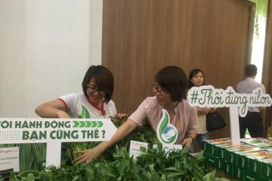 Hà Nội: Doanh nghiệp và người tiêu dùng chung tay chống rác thải nhựa