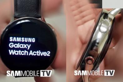 'Soi' công nghệ trên Samsung Galaxy Watch Active 2 qua hình ảnh vừa bị rò rỉ