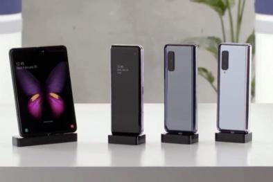 Samsung Galaxy Fold hoàn thành thiết kế, chuẩn bị 'trình làng'