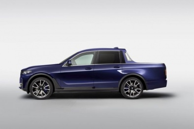 'Khám phá' BMW X7 phiên bản bán tải với ứng dụng mới nhất vừa lộ diện