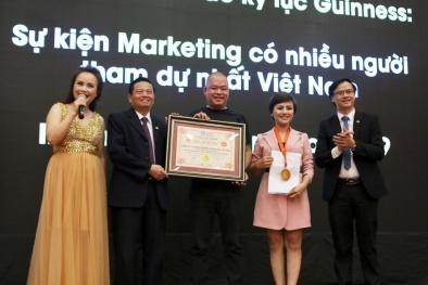 Kỷ lục sự kiện marketing có nhiều người tham dự nhất tại Việt Nam